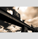Frank Titze, Ulm/Germany - No. 130 : BW I - Bridge over Rail II - 959x640 Pixel - 187 kB