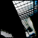 Frank Titze, Ulm/Germany - No. 1631 : Square 1:1 I - Main Station Hall V - 640x640 Pixel - 300 kB