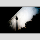 Frank Titze, Ulm/Germany - No. 1704 : Film 3:2 III - TV Tower in Rain - 953x640 Pixel - 220 kB