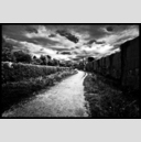 Frank Titze, Ulm/Germany - No. 191 : BW I - Way behind the Tracks - 947x640 Pixel - 377 kB