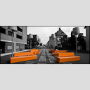 Frank Titze, Ulm/Germany - No. 196 : Cine 2.35:1 I - Orange Bench Seat - 960x413 Pixel - 135 kB
