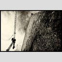 Frank Titze, Ulm/Germany - No. 2388 : BW II - Old Wall and New Crane - 947x640 Pixel - 629 kB