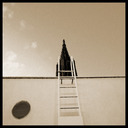 Frank Titze, Ulm/Germany - No. 278 : BW I - Ladder to the Minster - 640x640 Pixel - 111 kB