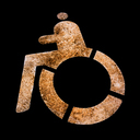 Frank Titze, Ulm/Germany - No. 2799 : Y 2015-01 - Wheel Chair I - 640x640 Pixel - 250 kB