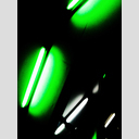 Frank Titze, Ulm/Germany - No. 3020 : Y 2015-03 - Green White Lamps - 480x640 Pixel - 185 kB