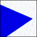 Frank Titze, Ulm/Germany - No. 3067 : Square 1:1 II - Blue on White - 640x640 Pixel - 144 kB