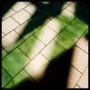 Frank Titze, Ulm/Germany - No. 3440 : Y 2015-08 - Green colored Shadow I - 640x640 Pixel - 574 kB