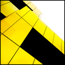 Frank Titze, Ulm/Germany - No. 3595 : Square 1:1 III - Yellow School Colors - 640x640 Pixel - 224 kB