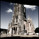 Frank Titze, Ulm/Germany - No. 3792 : Square 1:1 III - Minster Cut II - 640x640 Pixel - 399 kB