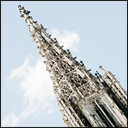 Frank Titze, Ulm/Germany - No. 3796 : Ulm Center - Minster Tower Cut - 640x640 Pixel - 306 kB
