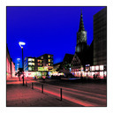 Frank Titze, Ulm/Germany - No. 383 : Ulm Center - Ulm Center at Night IV - 640x640 Pixel - 138 kB