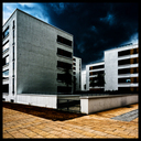 Frank Titze, Ulm/Germany - No. 3840 : Square 1:1 III - Dark Clouds II - 640x640 Pixel - 443 kB
