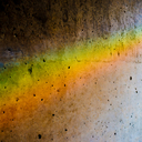 Frank Titze, Ulm/Germany - No. 4282 : Square 1:1 III - Rainbow on Concrete I - 640x640 Pixel - 500 kB