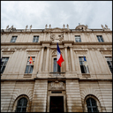 Frank Titze, Ulm/Germany - No. 4381 : Square 1:1 III - Town Hall Tricolore - 640x640 Pixel - 424 kB