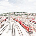 Frank Titze, Ulm/Germany - No. 4489 : Ulm West - Red Engines II - 640x640 Pixel - 446 kB