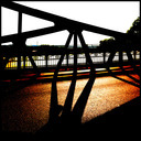 Frank Titze, Ulm/Germany - No. 448 : Ulm North - Bridge III - 640x640 Pixel - 202 kB