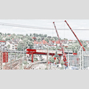 Frank Titze, Ulm/Germany - No. 4490 : Ulm West - Red Cranes and Construction - 960x540 Pixel - 588 kB