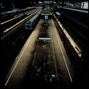 Frank Titze, Ulm/Germany - No. 4512 : Square 1:1 III - Main Station - 640x640 Pixel - 435 kB