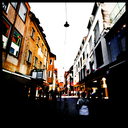 Frank Titze, Ulm/Germany - No. 4560 : Square 1:1 III - Lamp over Street - 640x640 Pixel - 382 kB