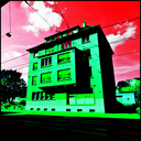 Frank Titze, Ulm/Germany - No. 4587 : Square 1:1 III - Green House I - 640x640 Pixel - 440 kB