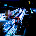 Frank Titze, Ulm/Germany - No. 490 : Ulm West - Night Work I - 640x640 Pixel - 190 kB
