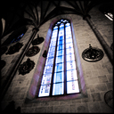 Frank Titze, Ulm/Germany - No. 5000 : Ulm Center - Minster Window I - 640x640 Pixel - 411 kB