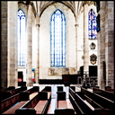 Frank Titze, Ulm/Germany - No. 5001 : Ulm Center - Minster Window II - 640x640 Pixel - 468 kB
