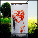 Frank Titze, Ulm/Germany - No. 515 : Ulm West - Blood Heart - 640x640 Pixel - 254 kB