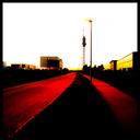 Frank Titze, Ulm/Germany - No. 519 : Ulm West - Red Street - 640x640 Pixel - 96 kB