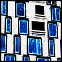 Frank Titze, Ulm/Germany - No. 5268 : Square 1:1 IV - Blue Eyes I - ImageWidth : --- xImageHeight : ---  Pixel - 460 kB