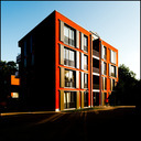 Frank Titze, Ulm/Germany - No. 552 : Square 1:1 I - Red House II - 640x640 Pixel - 131 kB