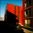 Frank Titze, Ulm/Germany - No. 553 : Square 1:1 I - Red House III - 640x640 Pixel - 142 kB