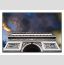 Frank Titze, Ulm/Germany - No. 5614 : Square 1:1 V - Sky over Arc de Triomphe - ImageWidth : --- xImageHeight : ---  Pixel - 411 kB