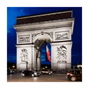 Frank Titze, Ulm/Germany - No. 5620 : Square 1:1 V - Arc de Triomphe - ImageWidth : --- xImageHeight : ---  Pixel - 324 kB