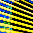 Frank Titze, Ulm/Germany - No. 5762 : Square 1:1 VI - Yellow Bars - ImageWidth : --- xImageHeight : ---  Pixel - 473 kB