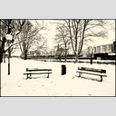 Frank Titze, Ulm/Germany - No. 6085 : Ulm South - Two Benches in the Snow - ImageWidth : --- xImageHeight : ---  Pixel - 573 kB