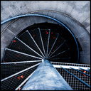 Frank Titze, Ulm/Germany - No. 729 : Ulm West - Stairs - 640x640 Pixel - 252 kB