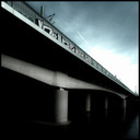 Frank Titze, Ulm/Germany - No. 758 : Square 1:1 I - Train Bridge III - 640x640 Pixel - 87 kB