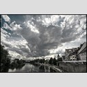 Frank Titze, Ulm/Germany - No. 7914 : Ulm South - Clouds above Danube - ImageWidth : --- xImageHeight : ---  Pixel - 442 kB