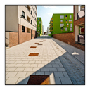 Frank Titze, Ulm/Germany - No. 7965 : Ulm South - Sunny Day in New Development Area I - ImageWidth : --- xImageHeight : ---  Pixel - 407 kB