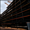 Frank Titze, Ulm/Germany - No. 8089 : Ulm Center - Construction Lines - ImageWidth : --- xImageHeight : ---  Pixel - 375 kB