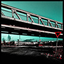 Frank Titze, Ulm/Germany - No. 870 : Square 1:1 I - Under the Bridge - 640x640 Pixel - 201 kB