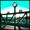 Frank Titze, Ulm/Germany - No. 877 : Ulm West - High Noon on Bridge - 640x640 Pixel - 197 kB