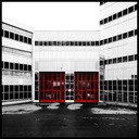 Frank Titze, Ulm/Germany - No. 896 : Ulm North - Red Doors - 640x640 Pixel - 133 kB