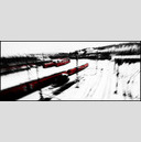 Frank Titze, Ulm/Germany - No. 903 : Cine 2.35:1 I - Red Trains I - 960x413 Pixel - 103 kB