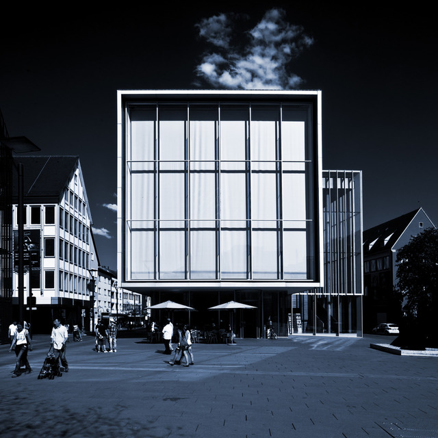 Frank Titze, Ulm/Germany - No. 150 : Ulm Center - Ulm Center II - 640x640 Pixel - 135 kB