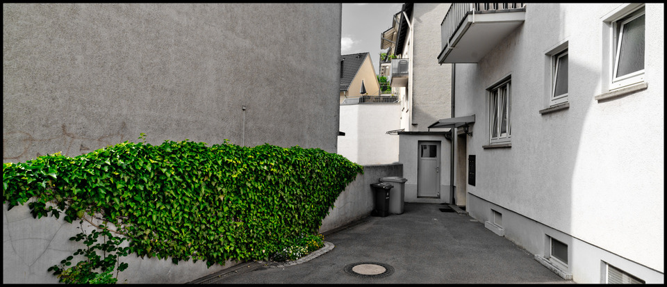 Frank Titze, Ulm/Germany - No. 210 : Ulm West - The Green Wall - 960x413 Pixel - 195 kB