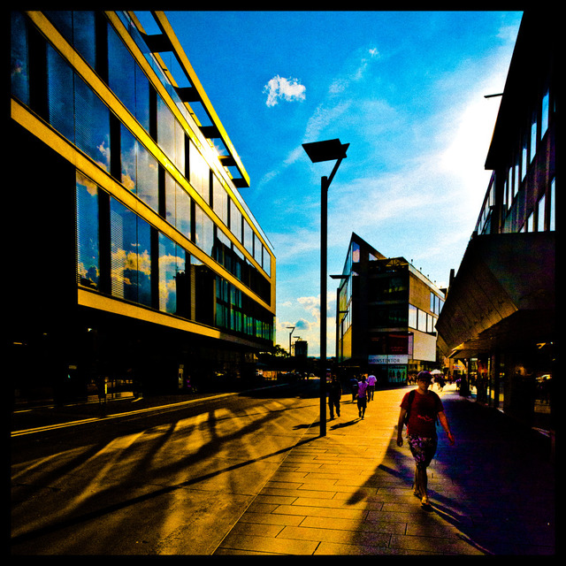 Frank Titze, Ulm/Germany - No. 269 : Ulm Center - Sunny - 640x640 Pixel - 223 kB