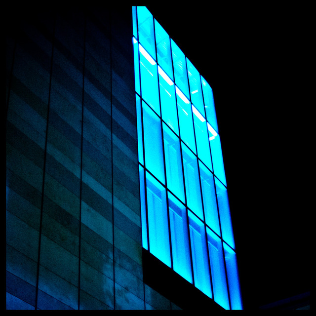 Frank Titze, Ulm/Germany - No. 291 : Ulm Center - Blue - 640x640 Pixel - 131 kB