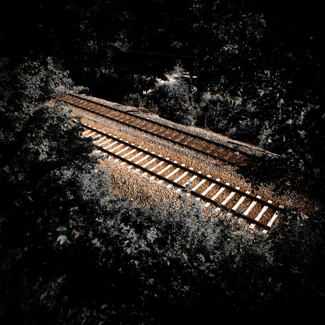 Frank Titze, Ulm/Germany - No. 435 : Ulm North - Tracks II - 640x640 Pixel - 207 kB